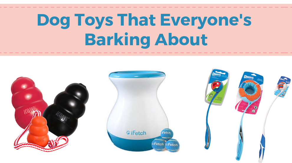 Dog Toys That Everyone's Barking About