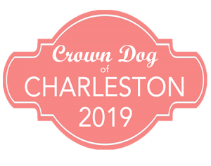 Crown Dog of Charleston Badge